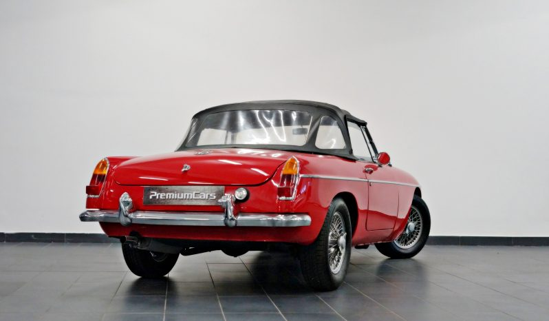 MG MGB 1966 Cabrio full